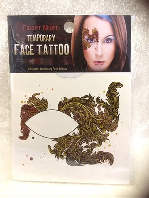 Face tatoo paint art