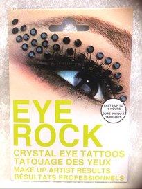 Eye rock stones black