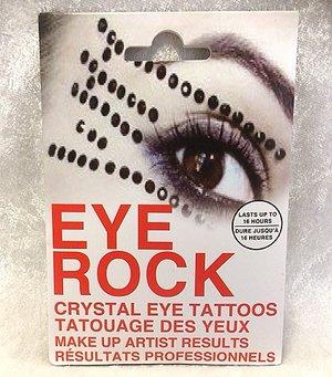 Eye rock stones black stripes