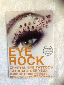 Eye rock stones gold