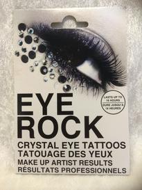 Eye rock stones black under